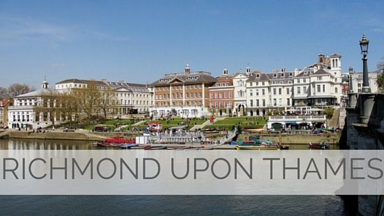 Learn To Say Richmond Upon Thames?