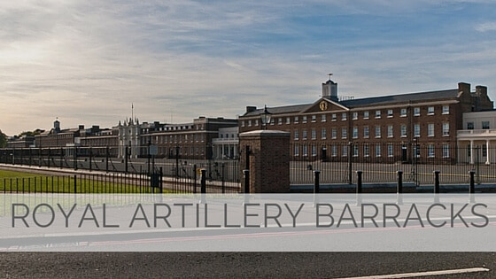 Learn To Say Royal Artillery Barracks?