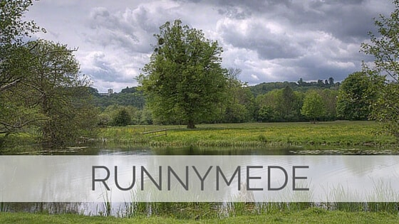 Learn To Say Runnymede?