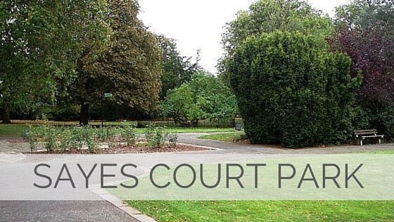 Learn To Say Sayes Court Park?