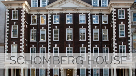Learn To Say Schomberg House?