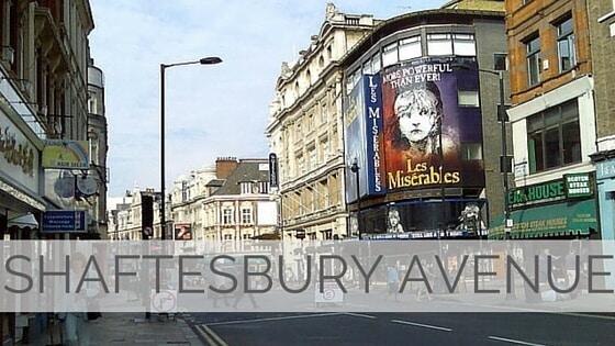 Learn To Say Shaftesbury Avenue?