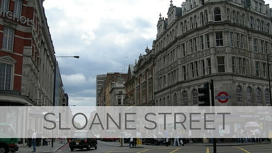 Learn To Say Sloane Street?