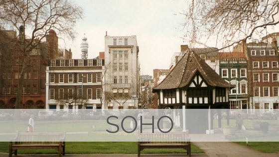Learn To Say Soho?