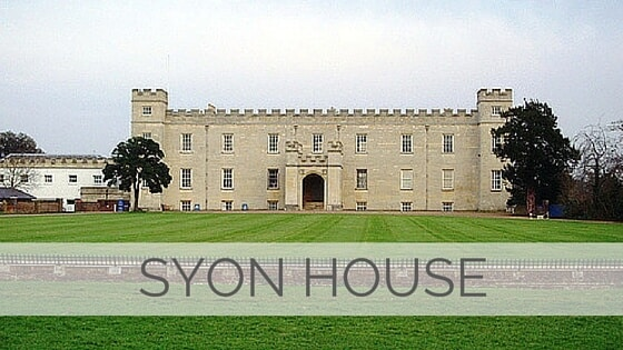 Learn To Say Syon House?