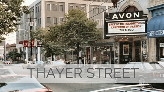 Learn To Say Thayer Street?