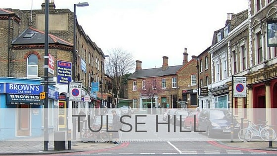 Learn To Say Tulse Hill?