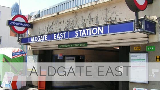 Learn To Say Aldgate East?