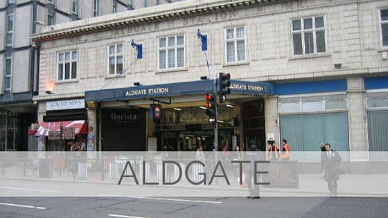 Learn To Say Aldgate?
