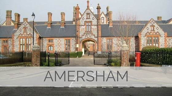 Learn To Say Amersham?