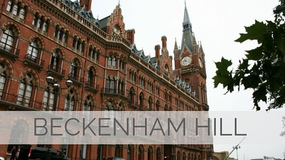 Learn To Say Beckenham Hill?