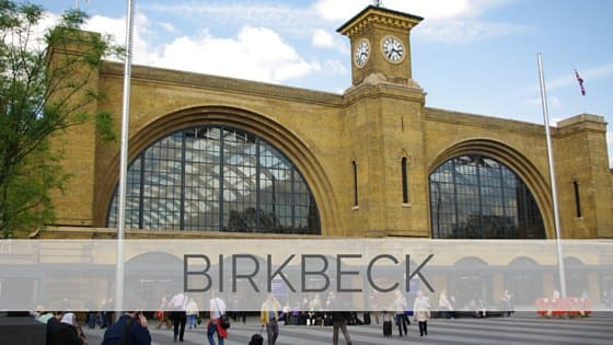 Learn To Say Birkbeck?