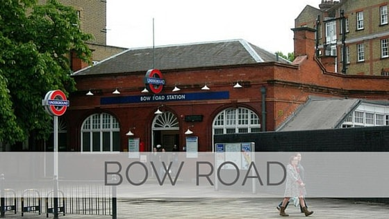Learn To Say Bow Road?
