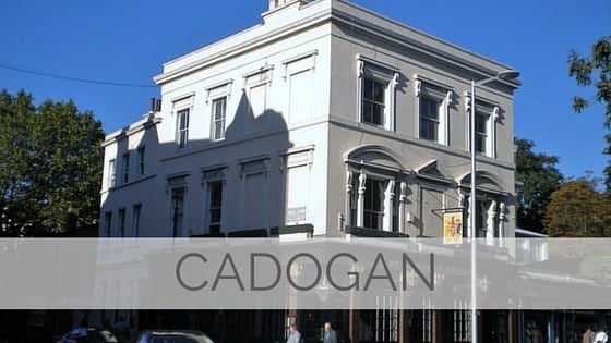 Learn To Say Cadogan?