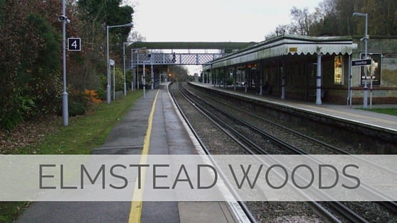 Learn To Say Elmstead Woods?