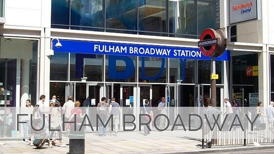 Learn To Say Fulham Broadway?
