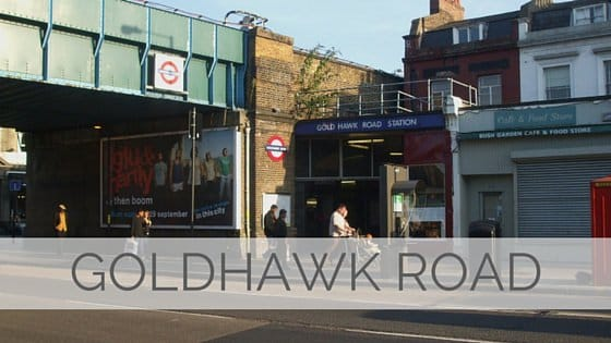Learn To Say Goldhawk Road?