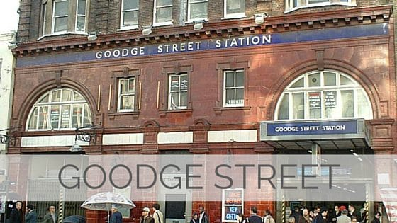 Learn To Say Goodge Street?