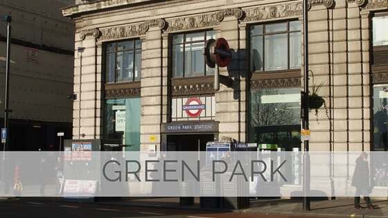 Learn To Say Green Park?