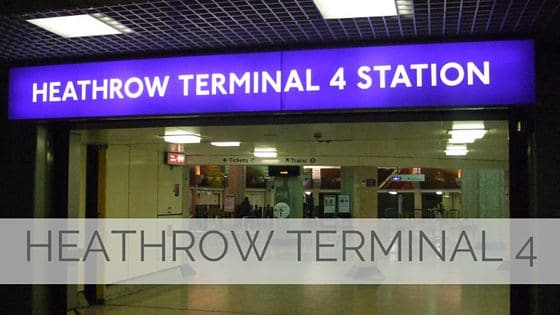 Learn To Say Heathrow Terminal 4?