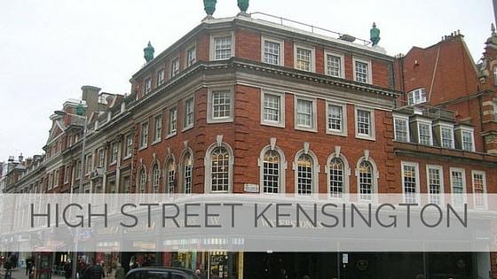 Learn To Say High Street Kensington?