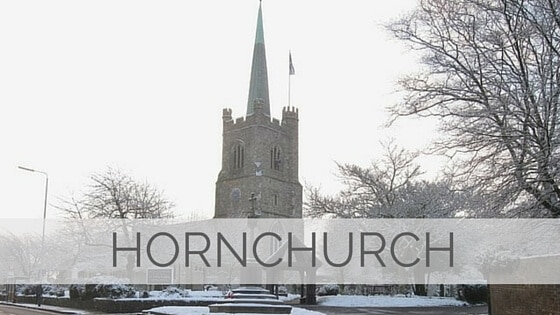 Learn To Say Hornchurch?