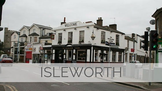 Learn To Say Isleworth?