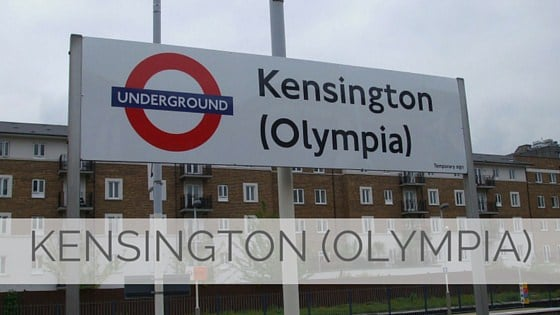 Learn To Say Kensington (Olympia)?
