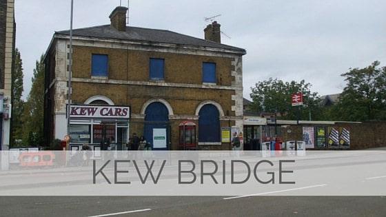 Learn To Say Kew Bridge?