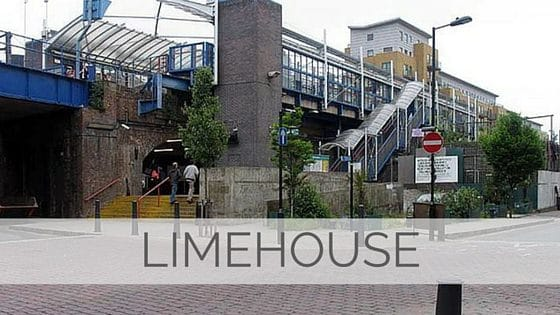 Learn To Say Limehouse?