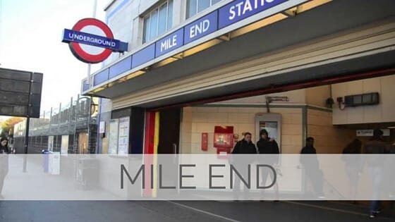 Learn To Say Mile End?