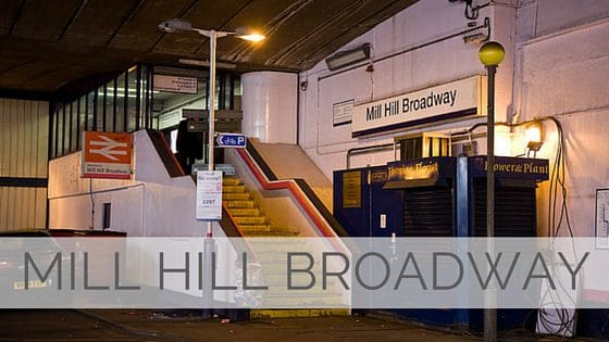 Learn To Say Mill Hill Broadway?
