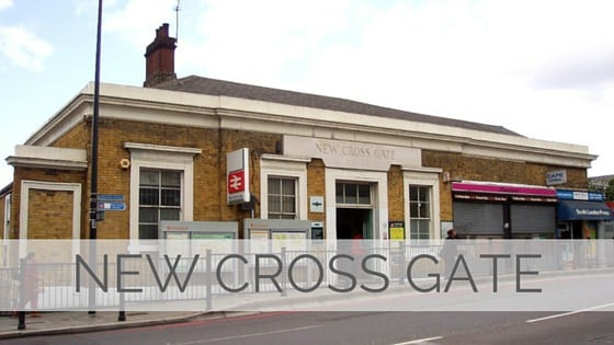 Learn To Say New Cross Gate?
