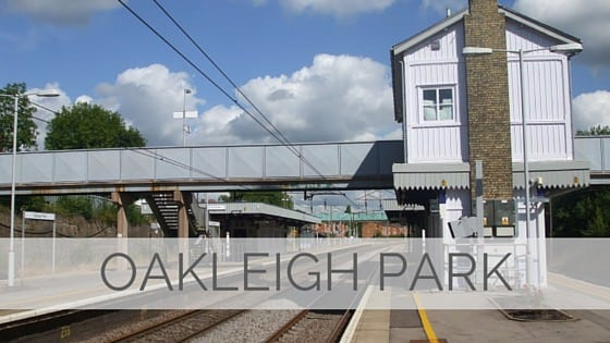 Learn To Say Oakleigh Park?