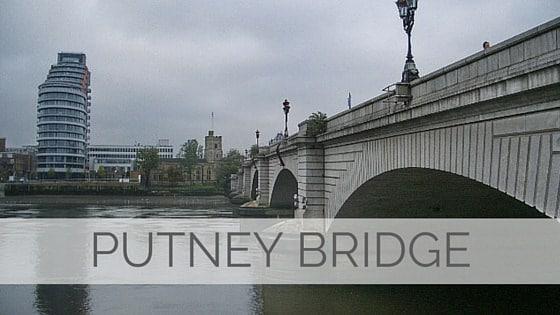 Learn To Say Putney Bridge?