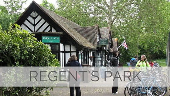 Learn To Say Regent's Park?