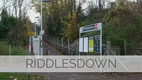 Learn To Say Riddlesdown?