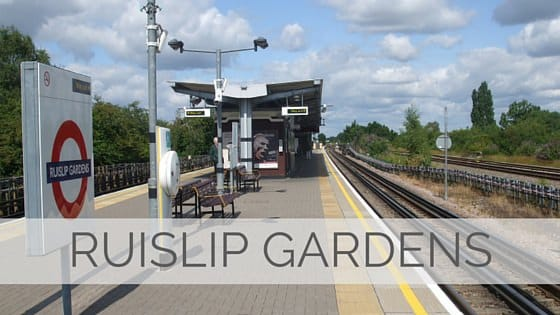 Learn To Say Ruislip Gardens?