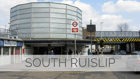 Learn To Say South Ruislip?