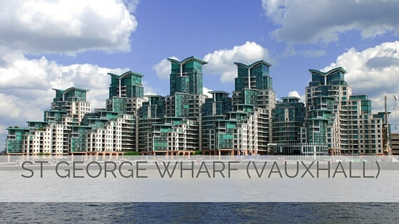 Learn To Say St George Wharf (Vauxhall)?