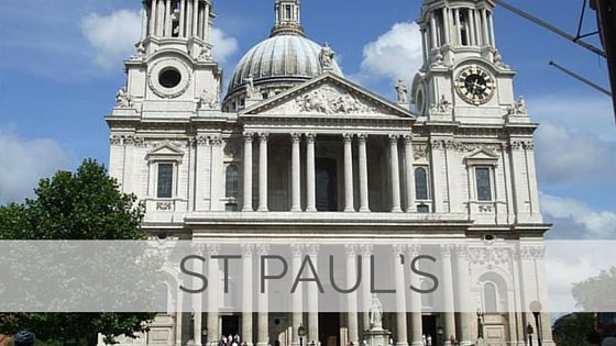 Learn To Say St Paul's?