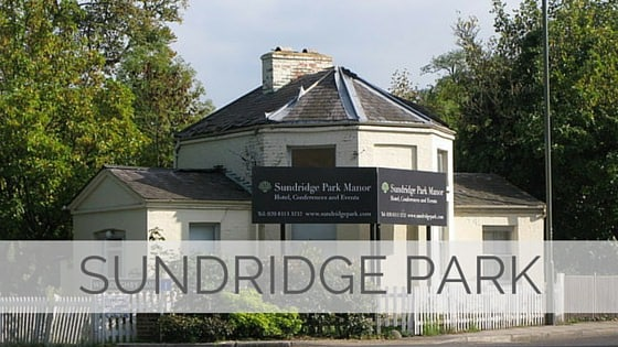 Learn To Say Sundridge Park?