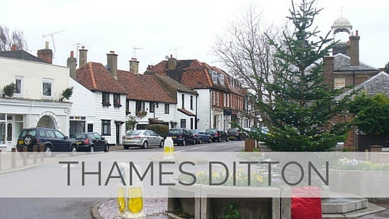 Learn To Say Thames Ditton?