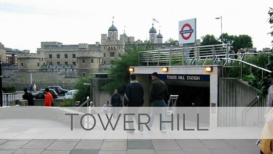 Learn To Say Tower Hill?