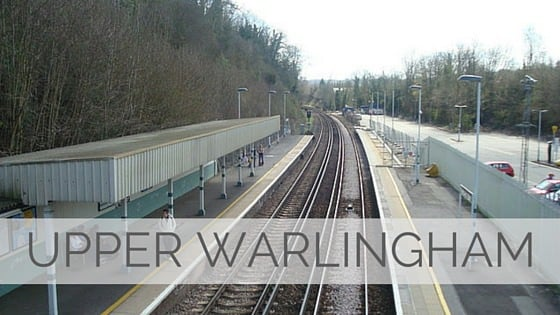 Learn To Say Upper Warlingham?