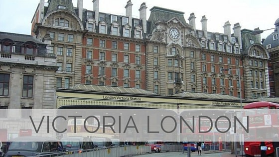 Learn To Say Victoria London?