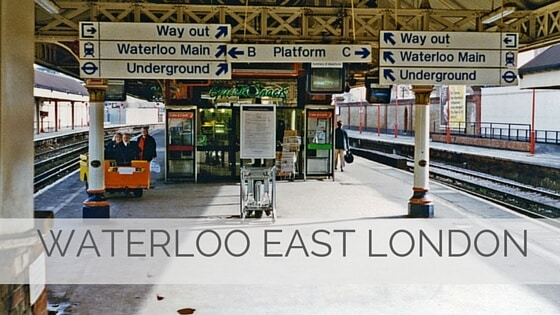 Learn To Say Waterloo East London?