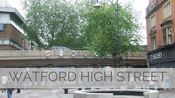 Learn To Say Watford High Street?