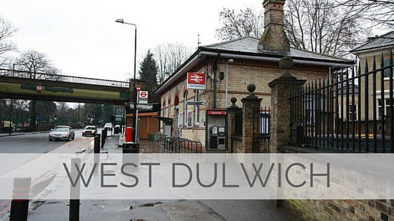 Learn To Say West Dulwich?