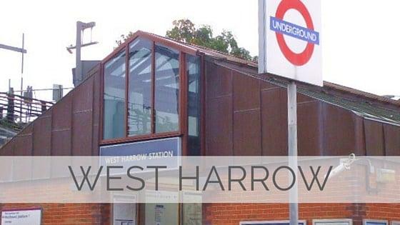 Learn To Say West Harrow?